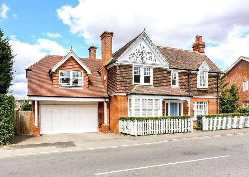4 Bedrooms Detached House for sale in Victoria Road, Wargrave, Reading, RG10