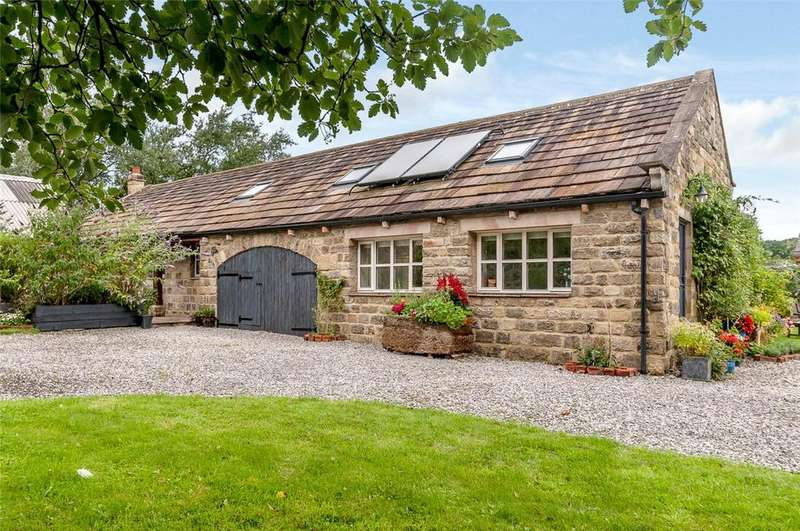 4 Bedrooms Detached House for sale in Braythorne Fold Barn, Church Lane, Stainburn, North Yorkshire, LS21