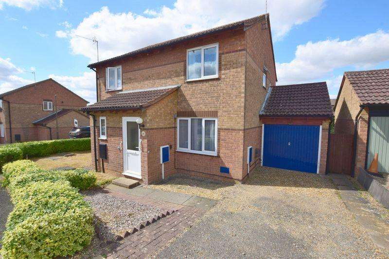 2 Bedrooms Semi Detached House for sale in Hexham Gardens, Bletchley, Milton Keynes