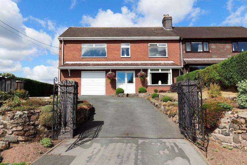 4 Bedrooms Semi Detached House for sale in Leek Road, Werrington, Staffordshire ST9