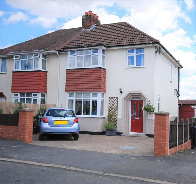 3 Bedrooms Semi Detached House for sale in Elmhurst Avenue, Melton Mowbray