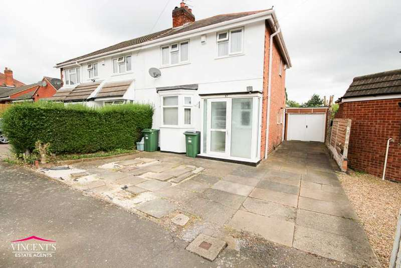 3 Bedrooms Semi Detached House for sale in Gwencole Crescent, Leicester