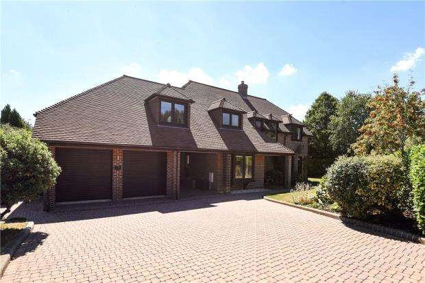 5 Bedrooms Detached House for sale in Wildcroft Drive, Wokingham, Berkshire
