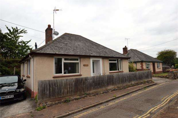 2 Bedrooms Detached Bungalow for sale in The Tolleys, Mill Street, Crediton, Devon