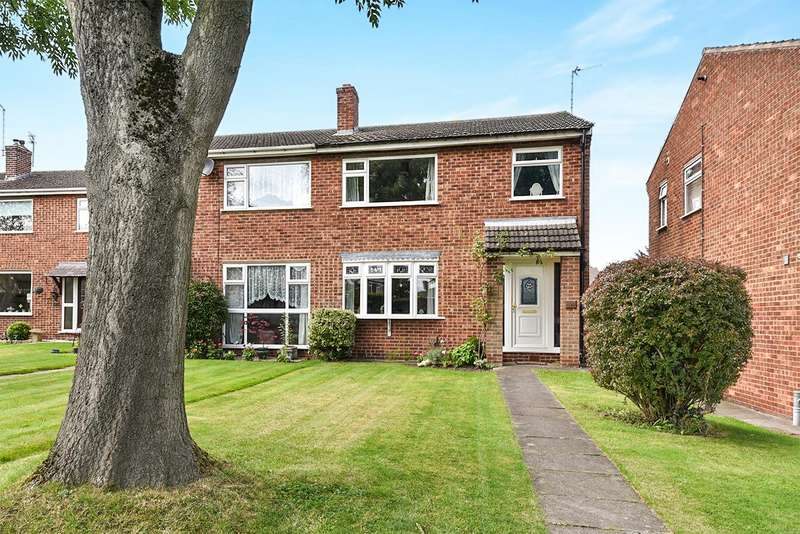 3 Bedrooms Semi Detached House for sale in Manor Gardens, Shepshed, Loughborough
