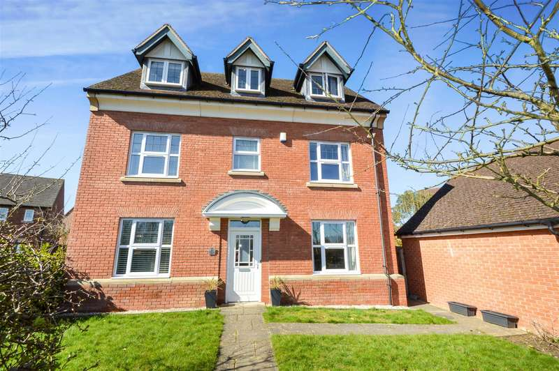 5 Bedrooms Detached House for sale in Burnaston Way, Loughborough