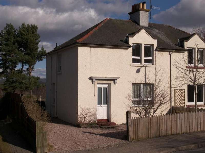 3 Bedrooms Semi Detached House for sale in Spey Avenue, Boat of Garten PH24