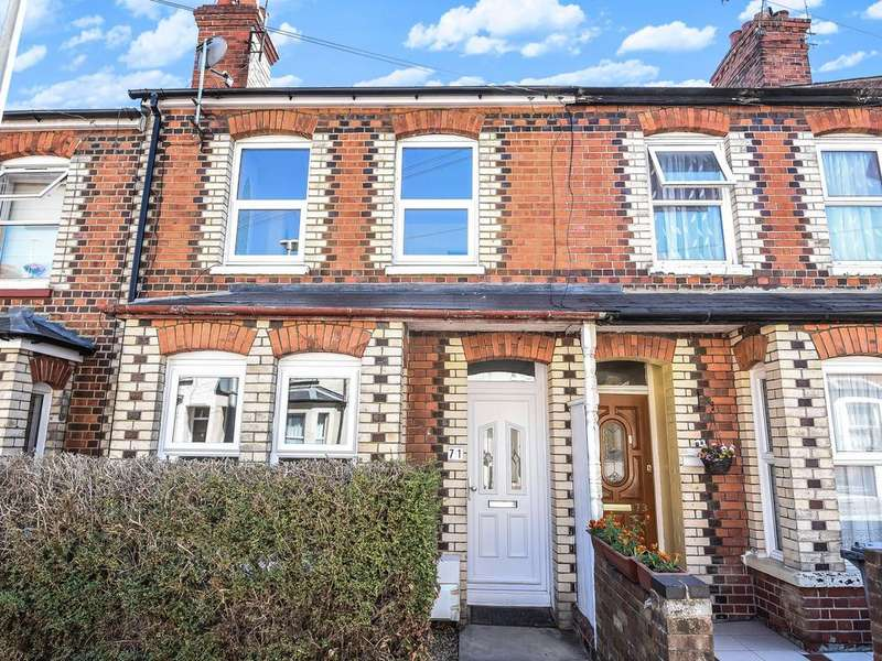 3 Bedrooms Terraced House for sale in Wilson Road, Reading, RG30