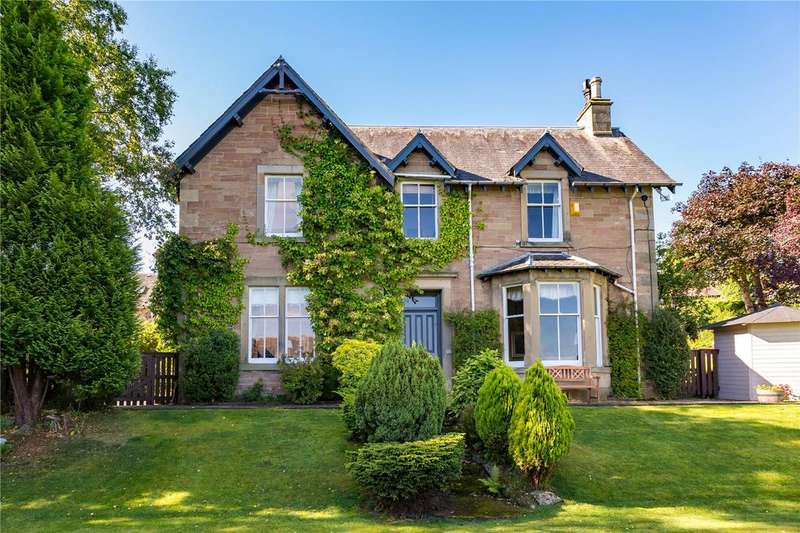 4 Bedrooms Detached House for sale in Ettrick View, Bleachfield Road, Selkirk, Scottish Borders