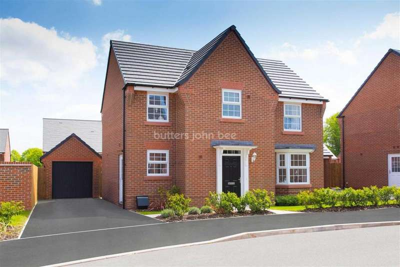 4 Bedrooms Detached House for sale in Townfield Lane, Winsford