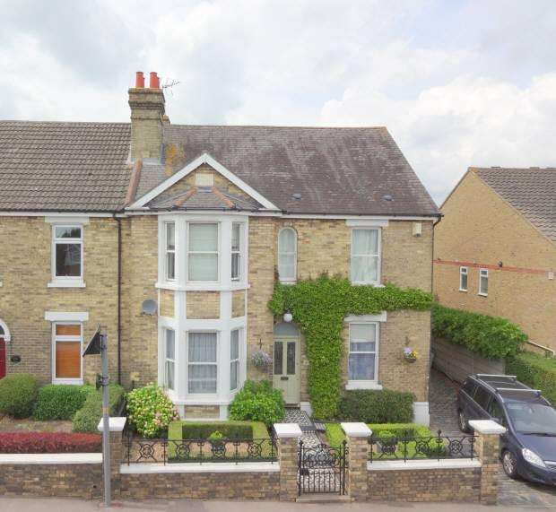 4 Bedrooms Semi Detached House for sale in SNODLAND, ME6