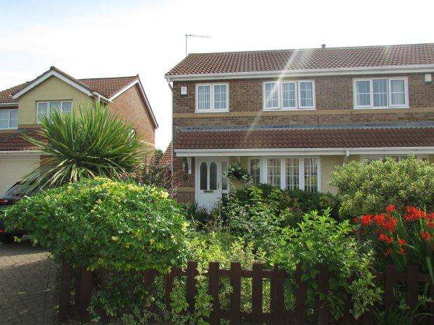 3 Bedrooms Semi Detached House for sale in PAVILLION CLOSE, SEATON CAREW, HARTLEPOOL