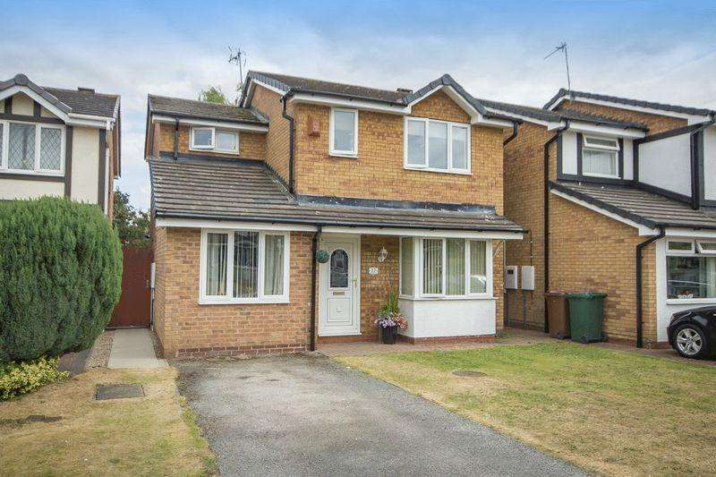 3 Bedrooms Detached House for sale in Burnside Close, Stenson Fields