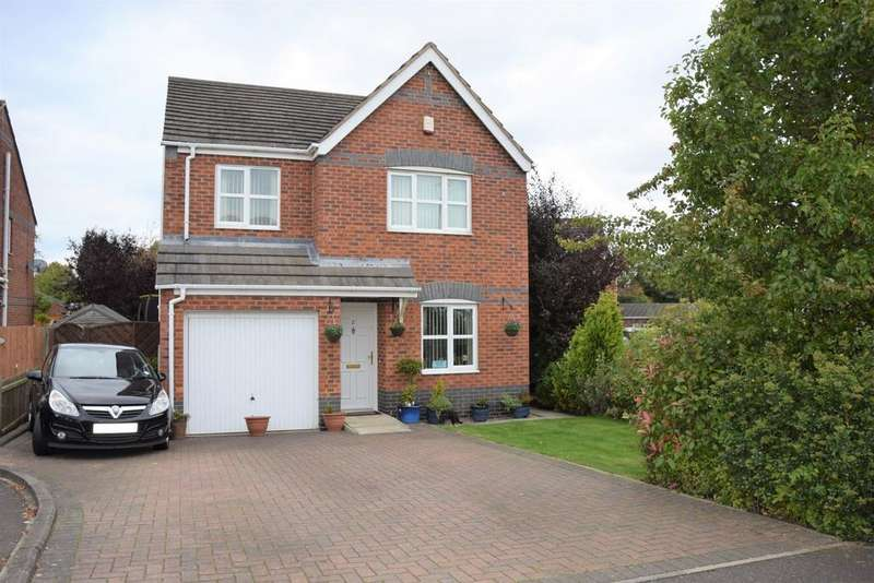 4 Bedrooms Detached House for sale in Warwick Close, Bagworth, LE67