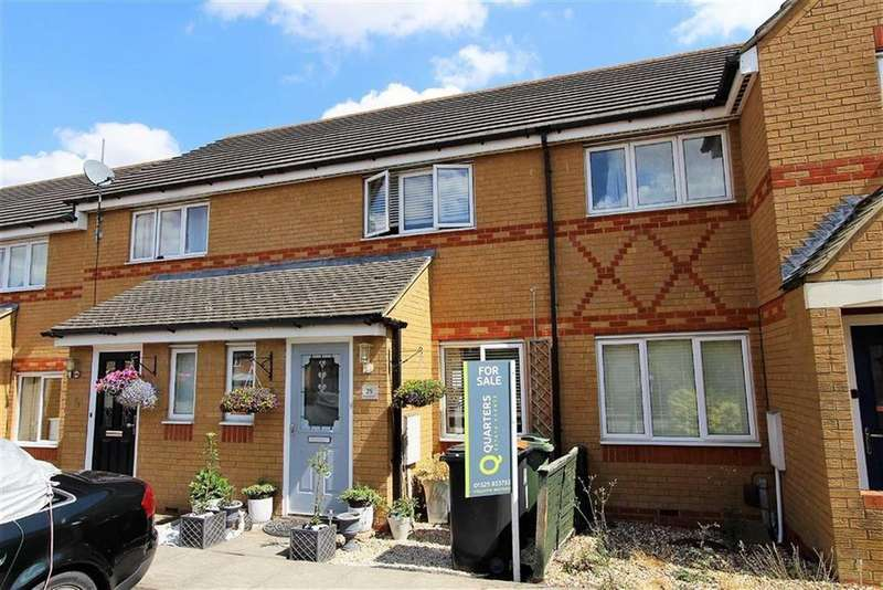 2 Bedrooms Terraced House for sale in Esmonde Way, Leighton Buzzard