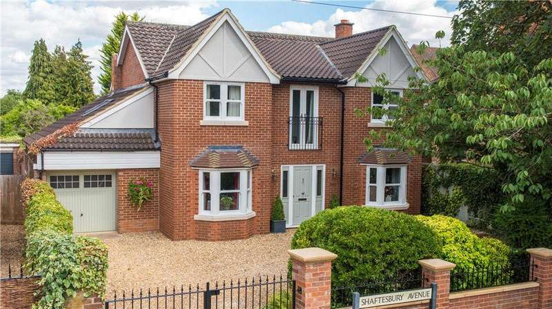 4 Bedrooms Detached House for sale in Shaftesbury Avenue, Bedford, Bedfordshire