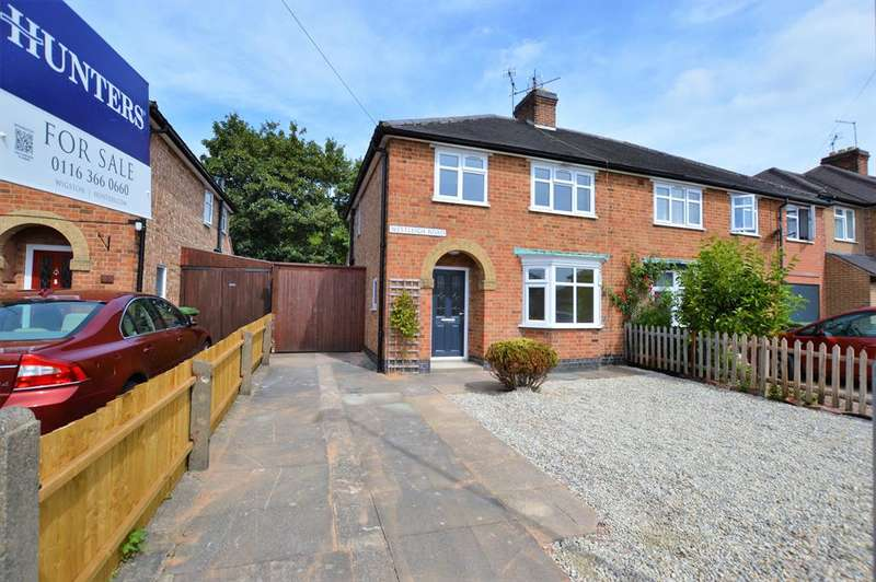3 Bedrooms Semi Detached House for sale in Westleigh Road, Glen Parva, LE2 9TP
