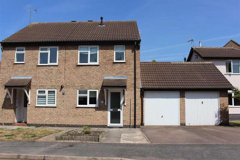 2 Bedrooms Semi Detached House for sale in The Pastures, Broughton Astley, Leicester