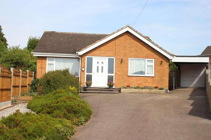 2 Bedrooms Detached Bungalow for sale in Campton close, Burbage