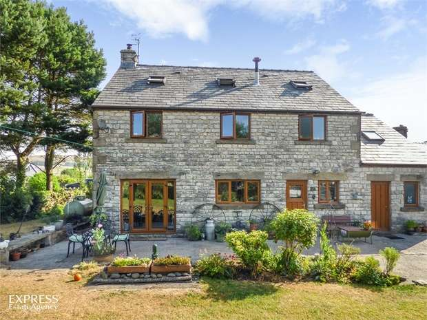 5 Bedrooms Detached House for sale in Hernstone Lane, Peak Forest, Buxton, Derbyshire