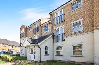 2 Bedrooms Flat for sale in Dimmock Close, Leighton Buzzard, Beds, Bedfordshire