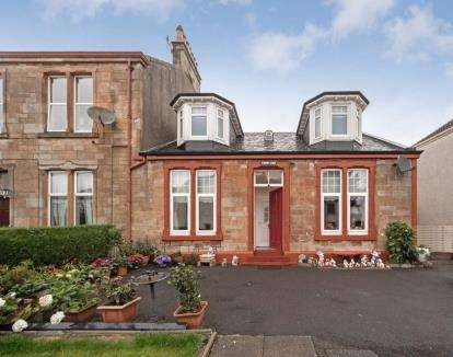 4 Bedrooms Semi Detached House for sale in Waterside Street, Largs