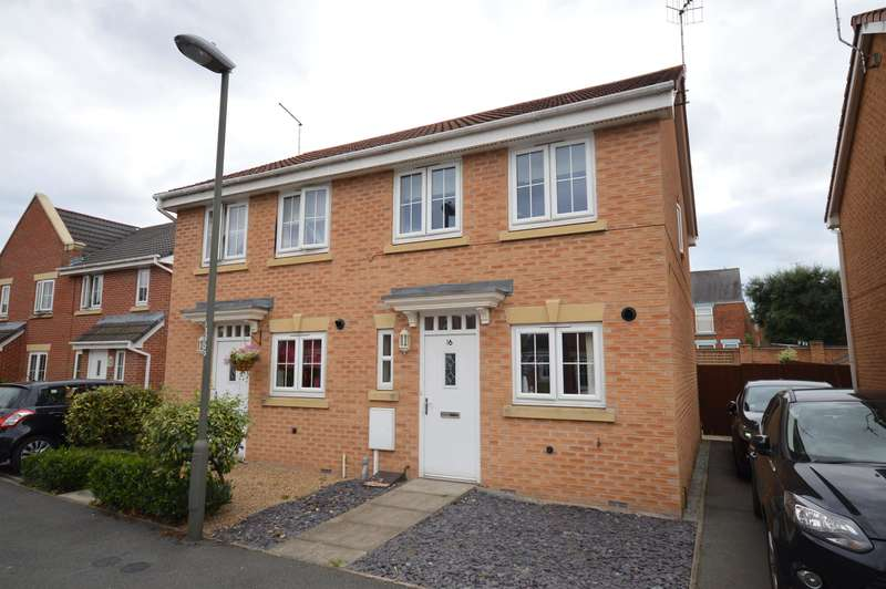 2 Bedrooms Semi Detached House for sale in Archdale Close, The Spires, Chesterfield, S40