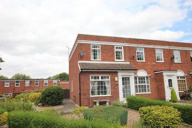 2 Bedrooms Terraced House for sale in Wolsey Way, Syston, Leicester, LE7