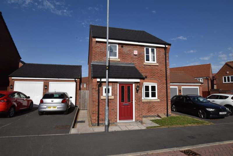 3 Bedrooms Property for sale in Aitken Way, Loughborough