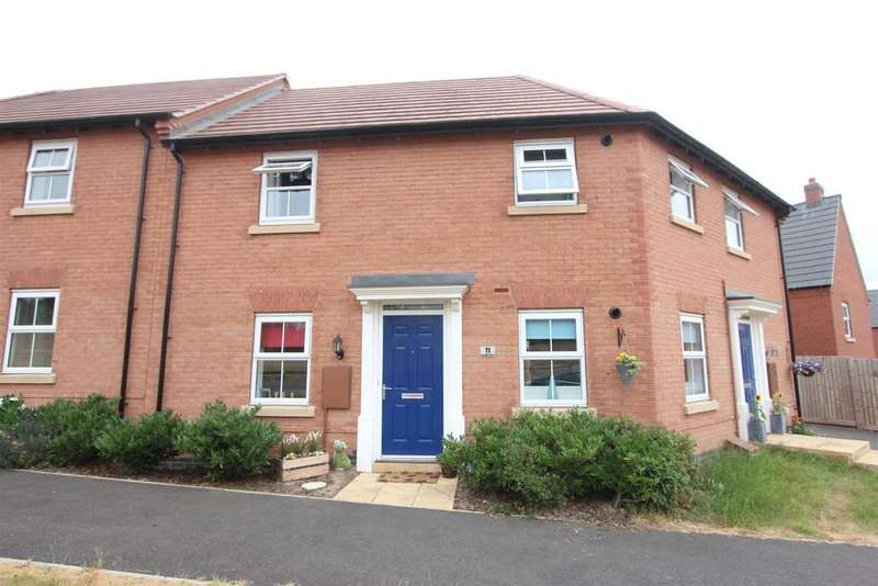 2 Bedrooms Ground Flat for sale in Ivy House Close, Sapcote