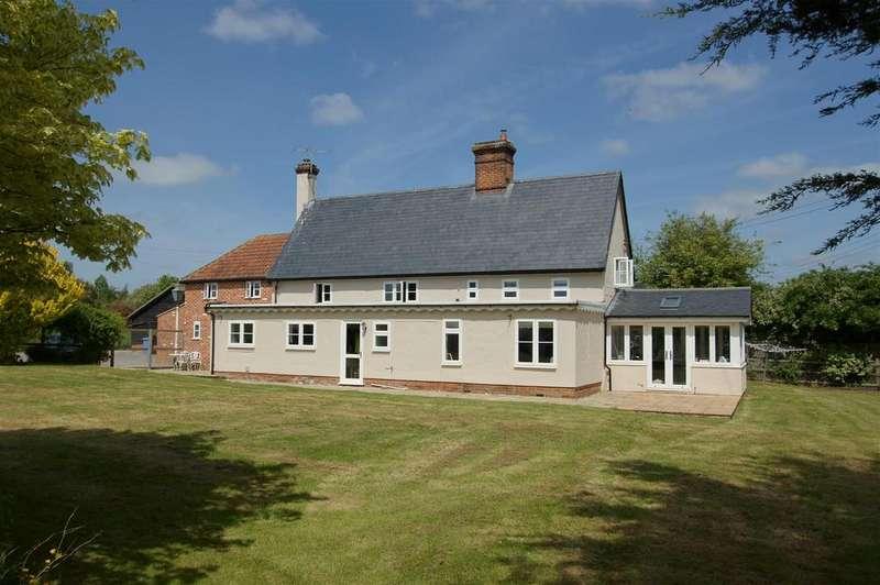 5 Bedrooms Detached House for sale in Shimpling Road, Hartest