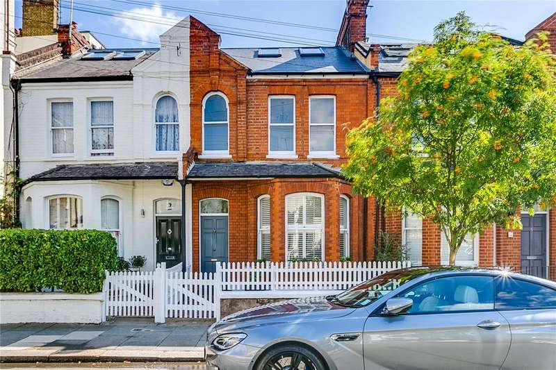 4 Bedrooms Terraced House for sale in Musard Road, London