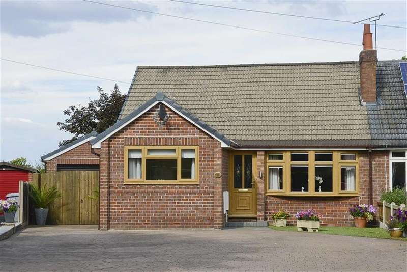 4 Bedrooms Semi Detached Bungalow for sale in Highfield Drive, Nantwich, Cheshire