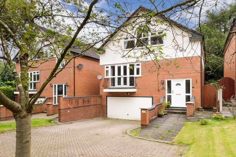 3 Bedrooms Detached House for sale in High Street, Norley, Frodsham, Cheshire, WA6