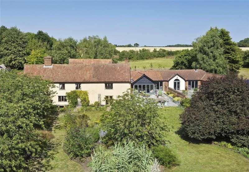 6 Bedrooms Detached House for sale in Kettleburgh, Nr Woodbridge, Suffolk, IP13