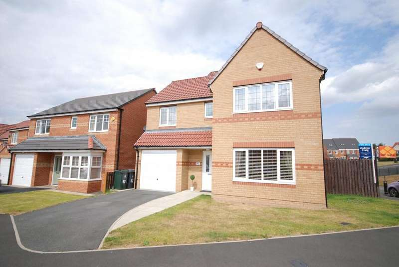4 Bedrooms Detached House for sale in Cawfields Close, Wallsend