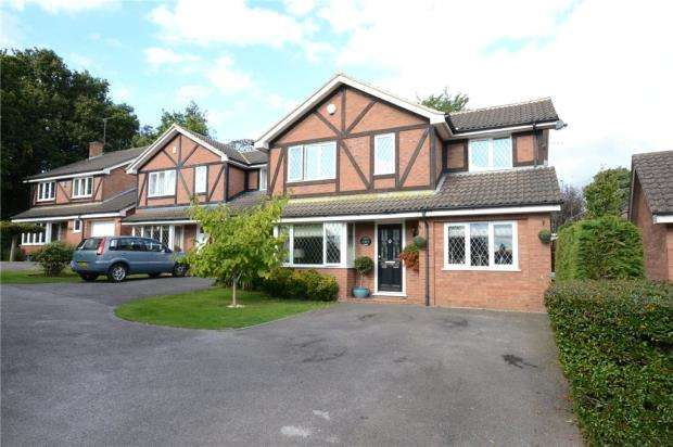 4 Bedrooms Detached House for sale in Farley Copse, Bracknell, Berkshire