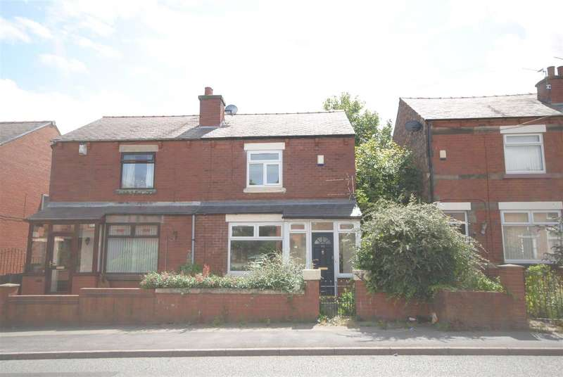 3 Bedrooms Semi Detached Bungalow for sale in Billinge Road, Pemberton, Wigan.