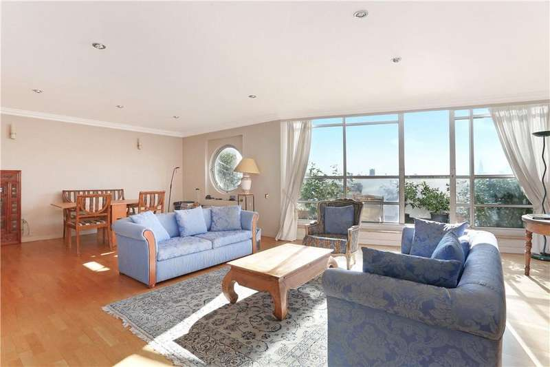 3 Bedrooms Penthouse Flat for sale in Anchorage Point, 42 Cuba Street, Isle Of Dogs, London, E14