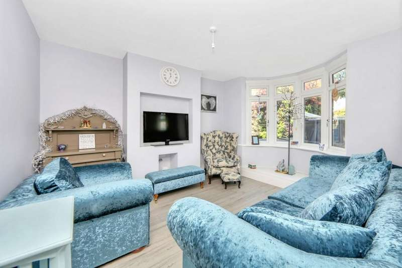 4 Bedrooms Semi Detached House for sale in Hurst Road, Sidcup, DA15