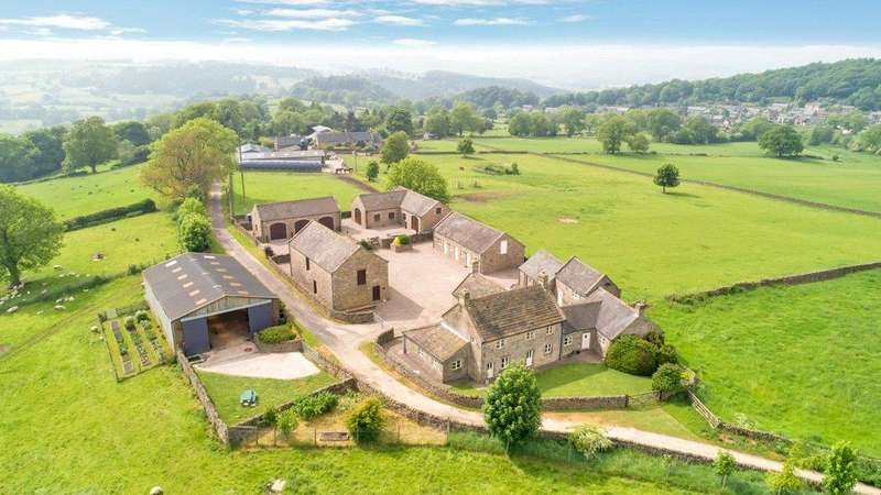 6 Bedrooms Detached House for sale in Birchover, Matlock, Derbyshire