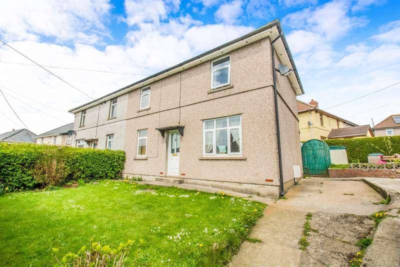 3 Bedrooms Semi Detached House for sale in Hillcrest, Garndiffaith, Pontypool
