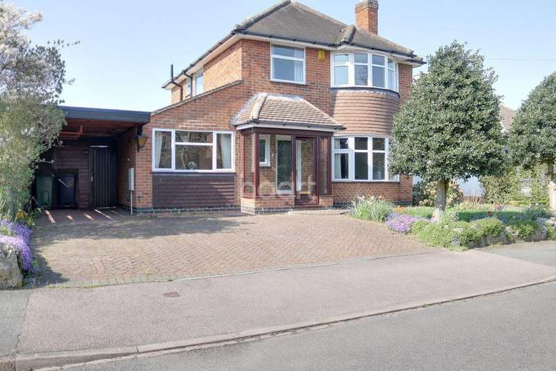 4 Bedrooms Detached House for sale in Spinney Hill Drive, Loughborough