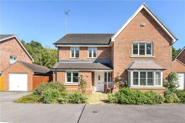 4 Bedrooms Detached House for sale in Butler Drive, Bracknell, Berkshire