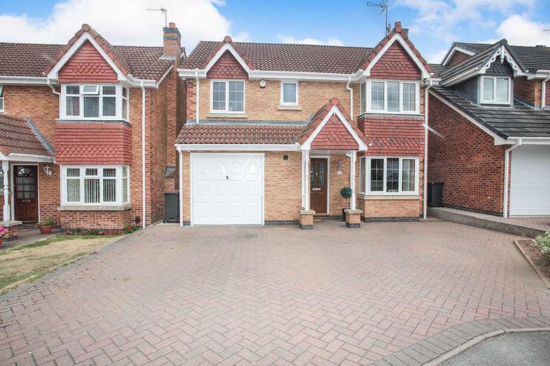 4 Bedrooms Detached House for sale in Juniper Close, Bedworth, CV12