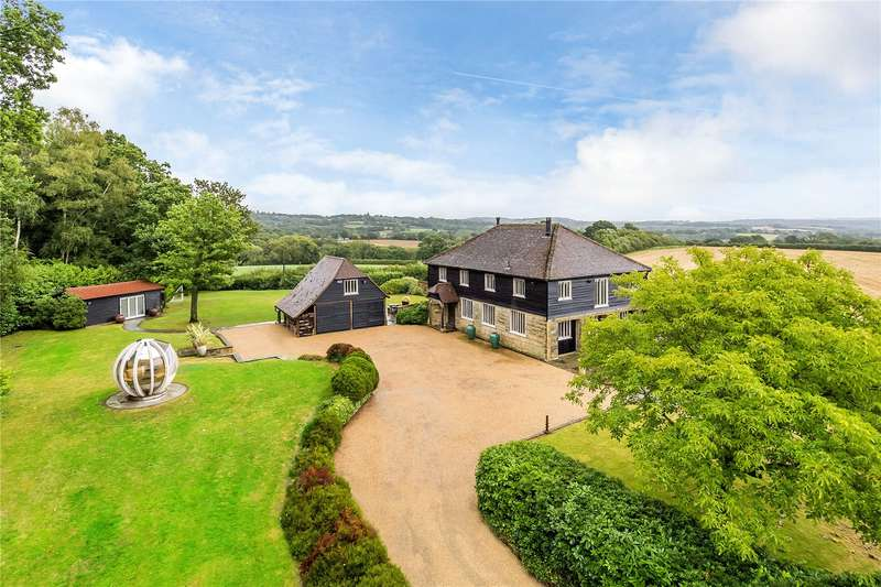 4 Bedrooms Detached House for sale in Chillies Lane, High Hurstwood, East Sussex, TN6