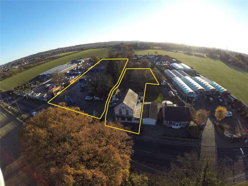 Land Commercial for sale in London Road, Rayleigh, Essex, SS6