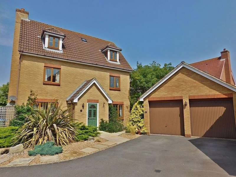 5 Bedrooms Detached House for sale in Swanton Close, Stubbington