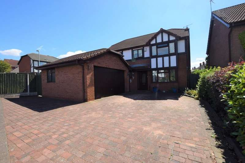 4 Bedrooms Detached House for sale in Cumberland Way , Barwell