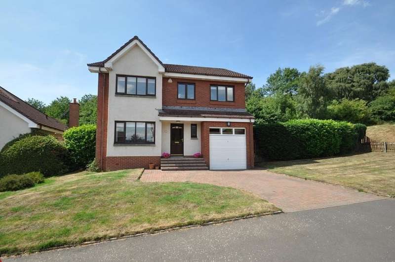 4 Bedrooms Detached House for sale in Braidpark Drive, Giffnock, Glasgow, G46